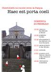 CDG.Chierichetti.Haec est porta coeli 2013.Locandina