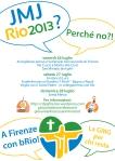 CDG.Rio 2013.A Firenze con bRio.Volantino bis