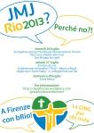 CDG.Rio 2013.A Firenze con bRio.Volantino