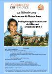 CDG.Pellegrinaggio 2013.Sassello.20130922.Locandina